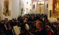 La Banda de la Diputación de Guadalajara, Novi Cantores y la Schola de Alcalá ofrecieron un magnífico concierto en Torrejón del Rey