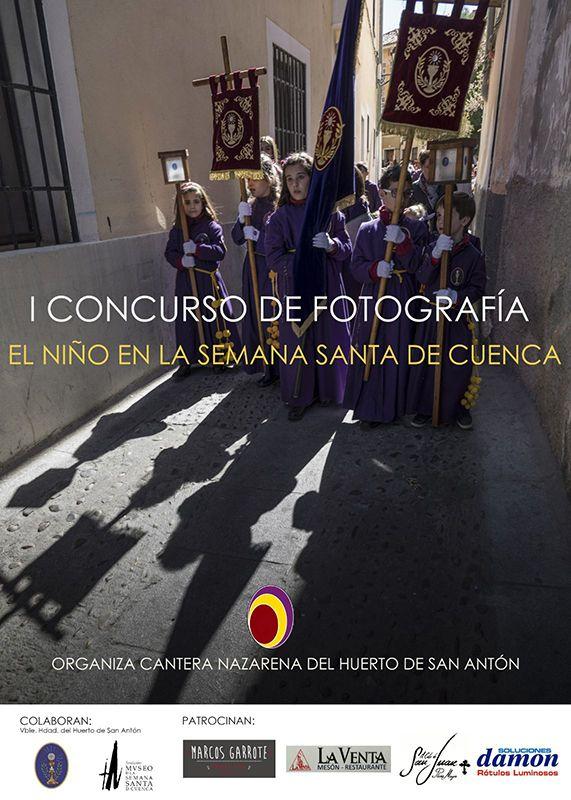 """La Cantera Nazarena convoca el I Premio de Fotografía """"El niño en la Semana Santa de Cuenca"""""""