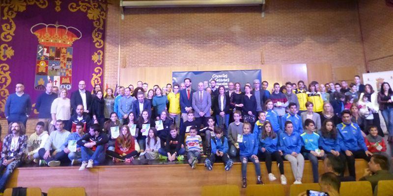 La Diputación de Guadalajara entrega los premios de los ganadores de los Circuitos de Carreras Populares, de Montaña y de Menores