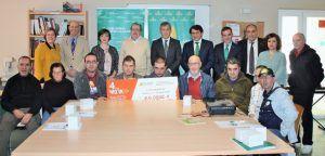 La Fundación Caja Rural Castilla-La Mancha entrega una ayuda 'Workin' de 6.000 euros a AFAEM Despertar de Camarena