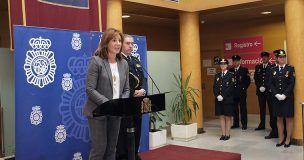 La subdelegada del Gobierno en Cuenca preside el acto de celebración del 194 Aniversario de la creación de la Policía