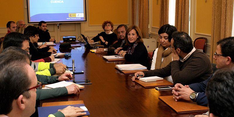la subdelegada del gobierno en cuenca preside la primera reunion de la subcomision de educacion vial   Liberal de Castilla