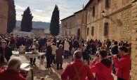 Mil raciones de migas y gachas para celebrar San Sebastián en Pastrana