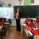 Montserrat Martínez acerca el Congreso y el Senado a las aulas escolares de Cuenca