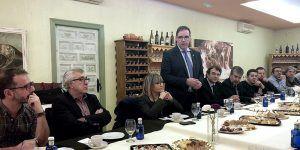 Prieto reclama una implicación real de todas las administraciones en la lucha contra la despoblación