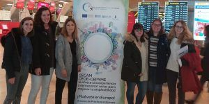Un total de 47 jóvenes comienzan sus prácticas laborales en Europa gracias al programa de movilidad de CECAM