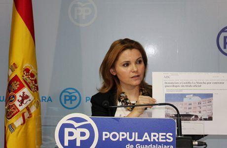 """Valdenebro exige la """"dimisión inmediata"""" del consejero de Sanidad """"porque las mujeres no queremos que nos traten como si fuéramos ganado"""""""