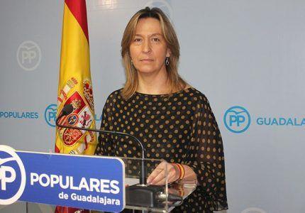 Ana Guarinos asegura que el PP va a llegar hasta el final para que el aparcamiento del Hospital de Guadalajara sea gratuito