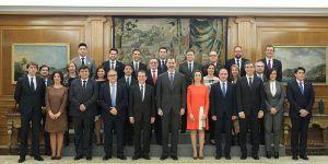 Antonio Román ha participado hoy en la Audiencia Real a la Junta de Gobierno de la FEMP