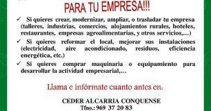 CEDER Alcarria Conquense ha aprobado 34 expedientes por un importe total de 1.195.830,07 euros desde el inicio de la actual Convocatoria de Ayudas LEADER