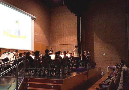 Cerca de 900 escolares de la provincia participaron en la cuarta edición de los conciertos pedagógicos de la Banda de Música de la Diputación de Gudadalajara