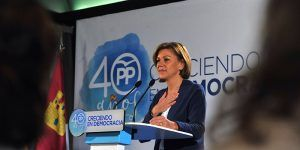 """Cospedal """"El PP tiene un proyecto de país y cree en una España moderna y democrática"""""""