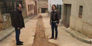 Diputación de Guadalajara lleva a cabo obras de renovación de redes hidráulicas en Cobeta, Rueda de la Sierra, Anchuela del Campo y Villel de Mesa