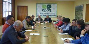 Diputación de Guadalajara y APAG se fijan objetivos para estrechar lazos de colaboración contra la despoblación en la provincia