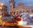 """El """"entierro de la sardina"""" puso ayer un brillante broche a las celebraciones del Carnaval 2018 de Guadalajara"""