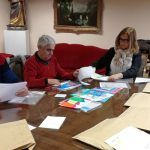 El jurado del V Concurso de Dibujo Abstracto Dibuja los colores de Cuenca se reúne para elegir a los ganadores