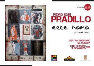 El Teatro-Auditorio de Cuenca acoge desde mañana la exposición 'Ecce Homo' con collages de Pedro José Pradillo