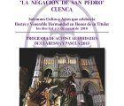 La Negación de San Pedro reconocerá en su Junta General a Pedro Pablo Morante, al Coro del Conservatorio de Cuenca y al periodista José Luis Muñoz