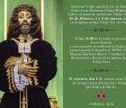 La R.I.E. de Nuestro Padre Jesús Nazareno (vulgo Medinaceli) celebra el 2 de marzo su solemne besapié a su Titular