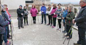 Médicos y usuarios del Centro de Salud de Horche organizan rutas para mejorar la salud de la población mediante la práctica de ejercicio físico