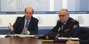 Sánchez-Seco agradece el trabajo de la Comisaría de Policía Nacional de Guadalajara que ha permitido reducir a un día la cita previa del DNI