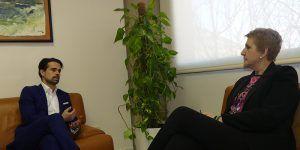 AJE y UCLM estudiarán medios de colaborar con el fin de facilitar la inclusión laboral de los alumnos
