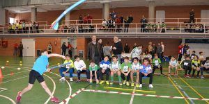 Alumnado de 11 centros de Primaria de Guadalajara participan en un campeonato de atletismo puesto en marcha por el Gobierno regional