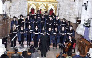 Brihuega recibe la visita del coro del Gonville & Caius Collegue de la Universidad de Cambridge