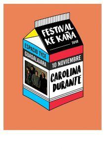 Carolina Durante, primera confirmación del VII Festival Ke Kaña