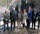 Catalá visita el Nacimiento del Río Cuervo con motivo del Día Mundial del Agua