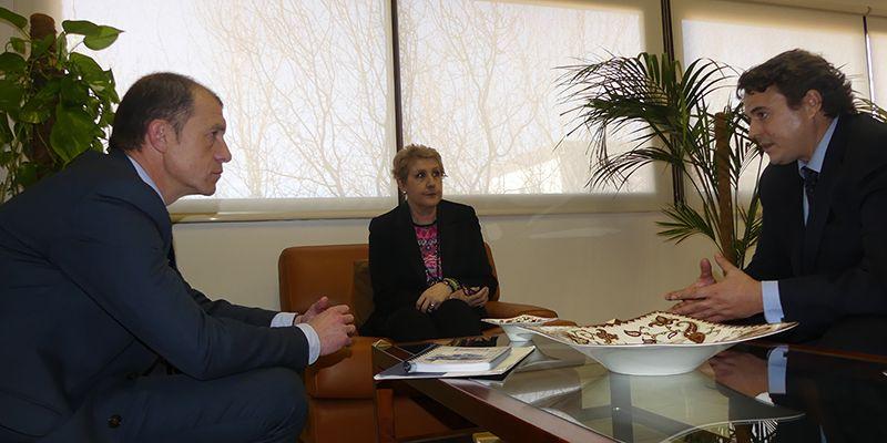 CEOE-Cepyme Cuenca y la vicerrectora coinciden en la importancia de la UCLM para el futuro de Cuenca