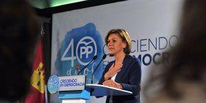 Cospedal clausura el Foro por la Igualdad de Oportunidades del Partido Popular de Castilla-La Mancha