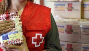Cruz Roja Cuenca reparte 120.842 kilos de alimentos a 27 entidades sociales en su programa de Ayuda Alimentaria