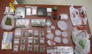 Desmantelado en Villanueva de la Torre un punto en el que vendían droga a menores a cambio de objetos robados