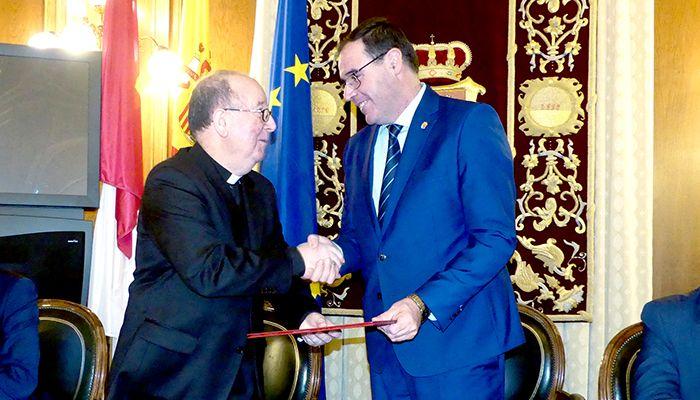 Diputación de Cuenca y Obispado mantienen su esfuerzo inversor de 700.000 euros en la rehabilitación de edificios religiosos