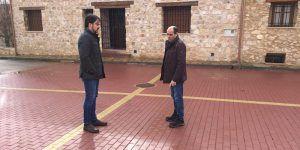 Diputación de Guadalajara invierte más de 100.000 euros en Checa, Megina, Taravilla y Traíd en obras de pavimentación y renovación de redes