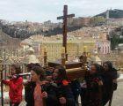 El Colegio La Milagrosa de Cuenca ha celebrado este viernes su tradicional procesión de Semana Santa