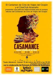 El jueves, 15 de marzo, la película finalista en el Certamen de Cine de Viajes del Ocejón en el Moderno