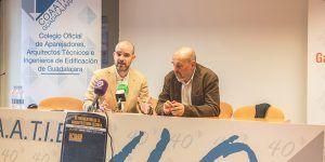 El papel del aparejador en la sociedad protagoniza el II Encuentro de la Arquitectura Técnica en Guadalajara