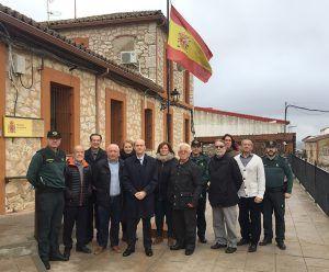 El subdelegado del Gobierno en Guadalajara se reúne con los alcaldes de la demarcación de la Guardia Civil de Horche
