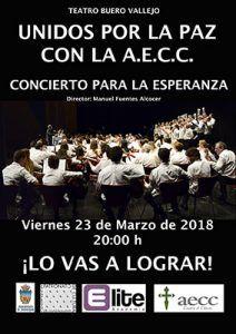 El viernes, 23 de marzo, música contra el cáncer en el Buero Vallejo