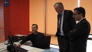 Empresarios alcarreños mantienen un encuentro empresarial con el consejero económico y comercial de la Embajada de Bélgica en Madrid