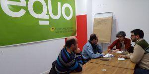 Encuentro de las direcciones regionales del Partido Castellano (PCAS) y EQUO Castilla la Mancha de cara a las elecciones de 2019