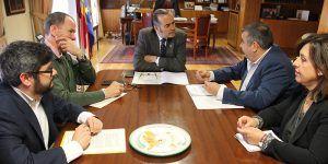 Gregorio se reúne con representantes de CSI-F en Castilla-La Mancha para analizar el acuerdo para la mejora del empleo público y las condiciones de trabajo