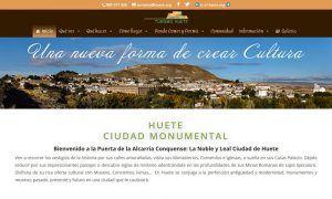 Huete presentará este martes su nuevo portal web de servicios turísticos