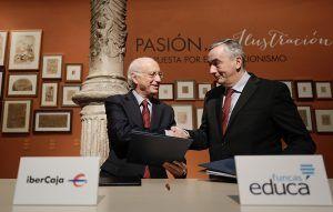 Ibercaja se adhiere al programa de Funcas para impulsar la educación financiera
