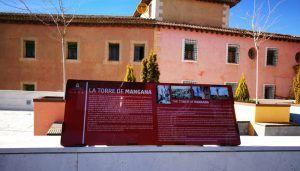 Instalados los paneles explicativos exteriores del yacimiento arqueológico de la Plaza de Mangana