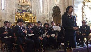 La Banda de Música de Brihuega se adelanta la Semana Santa con un concierto de marchas procesionales en homenaje a sus 150 años