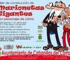 La Biblioteca de Cabanillas organiza un taller de construcción de marionetas gigantes