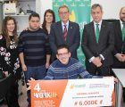 La Fundación Caja Rural Castilla-La Mancha entrega una ayuda 'Workin' de 6.000 euros a Asprona Albacete
